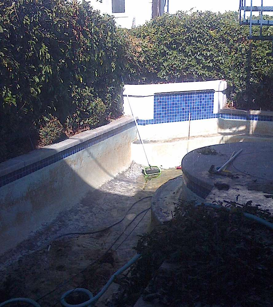 Backyard Sept 2008