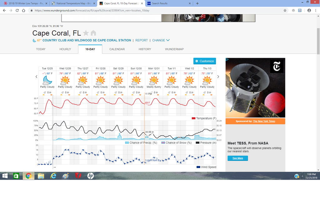 Cape Coral, Florida 10-day forecast.png